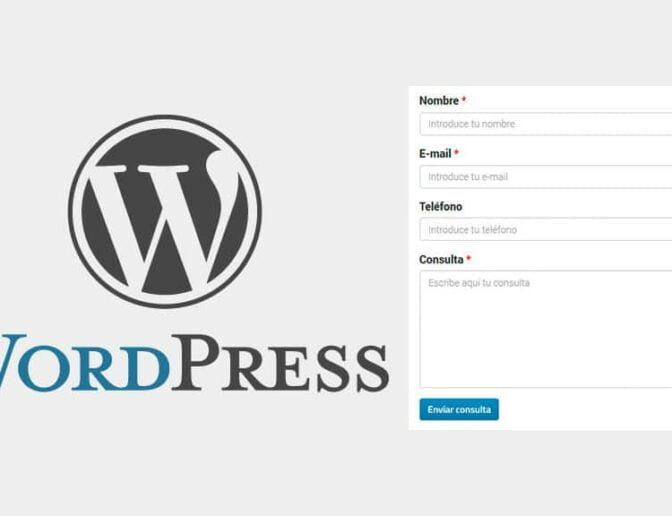 Como criar formulário no WordPress para página de contato sem plugin