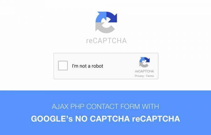 Como adicionar o reCaptcha em formulário de contato do WordPress sem plugins